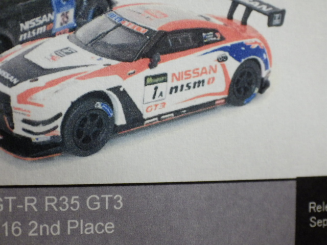 1/64 TARMAC HOBBY64 ニッサン ニスモ GT-R R35 GT3 Bathurst 12h 2016 2nd Place