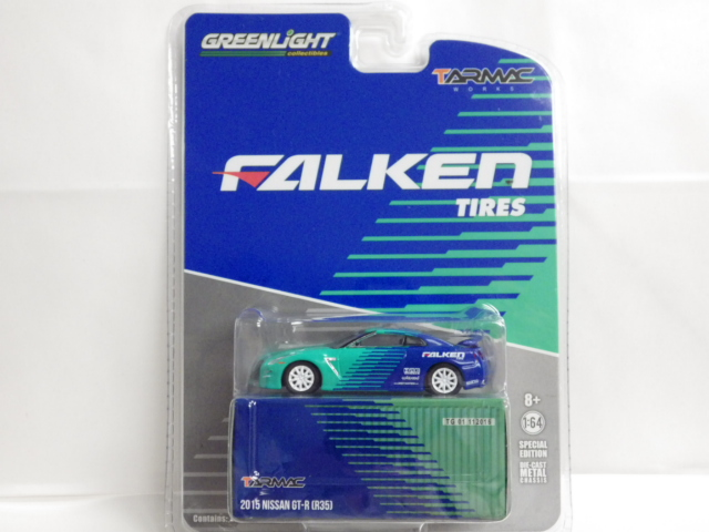 1/64 TARMAC Works Greenlight ニッサン GT-R