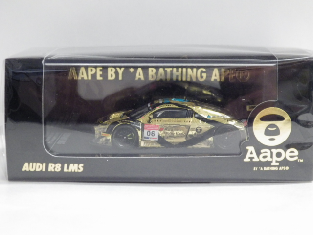 1/64 TARMAC HOBBY64 アウディ R8 LMS AAPE BY A BATHING APE チャイナGT チャンピオンシップ2017 #6
