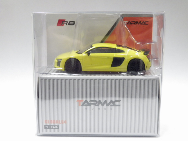 1/64 TARMAC アウディ R8 V10 PLUS  Vegas Yellow