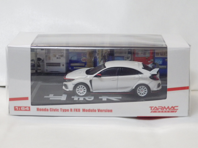 1/64 TARMAC ホンダ シビック Type R FK8 Modulo Version