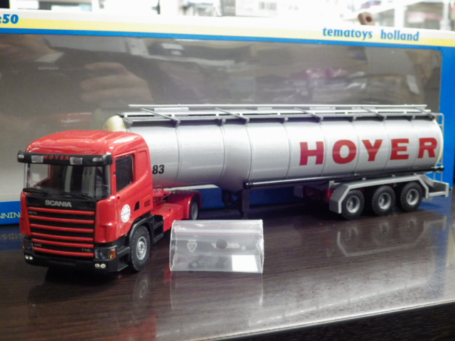 1/50 tematoys  SCANIA HOYER トレーラー